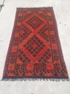 Red Turkish runner