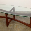 Vintage Adrian Pearsall Ribbon Cocktail Table