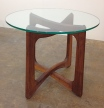 Vintage Adrian Pearsall Ribbon Side Table