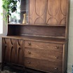 Vintage Brasilia Two-Piece Hutch