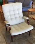 "Vintage Bruno Mathsson ""Ingrid Chair""."