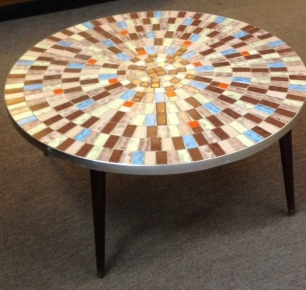 Mosaic Tile Cocktail Table