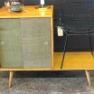 Vintage McCobb Bench and Cabinet