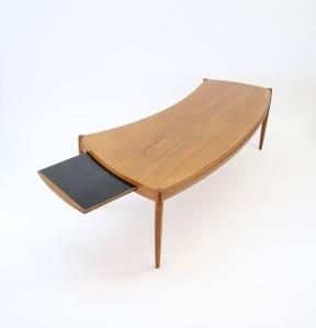 "Johannes Anderson ""Capri"" Teak Coffee Table"