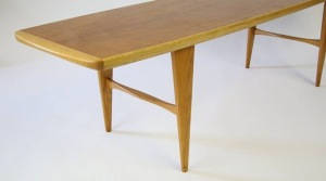 Svante Skogh Teak and Oak Coffee Table