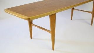 Svante Skogh Teak and Oak Coffee Table